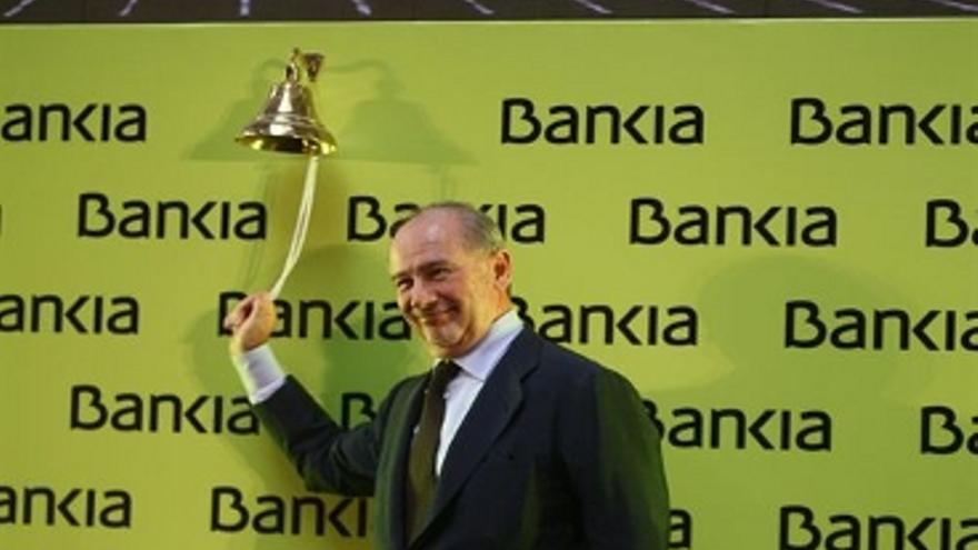 Rodrigo Rato, presidente de Bankia. (EUROPA PRESS)