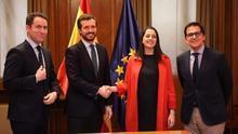 Sectores del PP admiten su inquietud con el giro de Cs porque deja tocada España Suma y puede desestabilizar sus pactos
