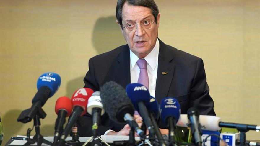 Anastasiadis dice que no hay fecha para el acuerdo de paz ni para un arreglo con los garantes