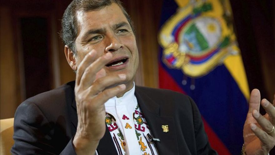 Correa pide a la ONU que le muestre cómo poner fin a la violencia de los indígenas amazónicos