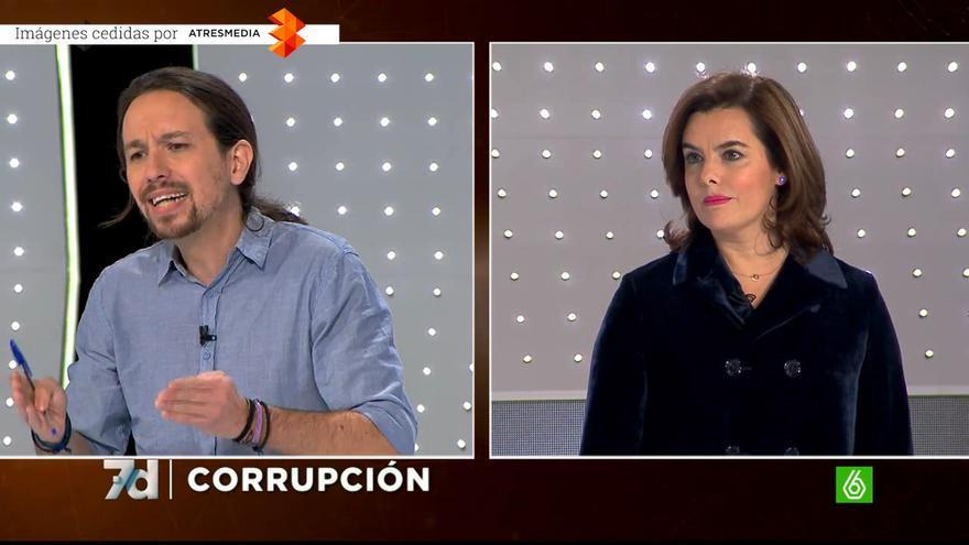 Soraya Sáenz de Santamaría acorralada por la corrupción de su partido