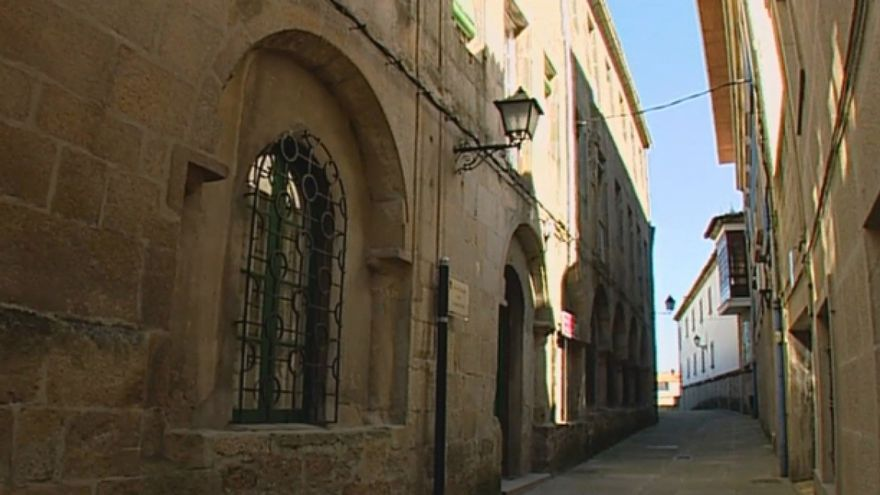 Santuario de las Apariciones, en el centro de Pontevedra