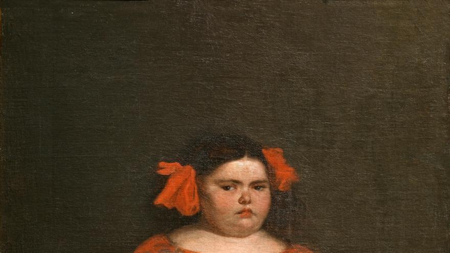 'Eugenia Martínez Vallejo, vestida', de Juan Carreño Miranda (1980)