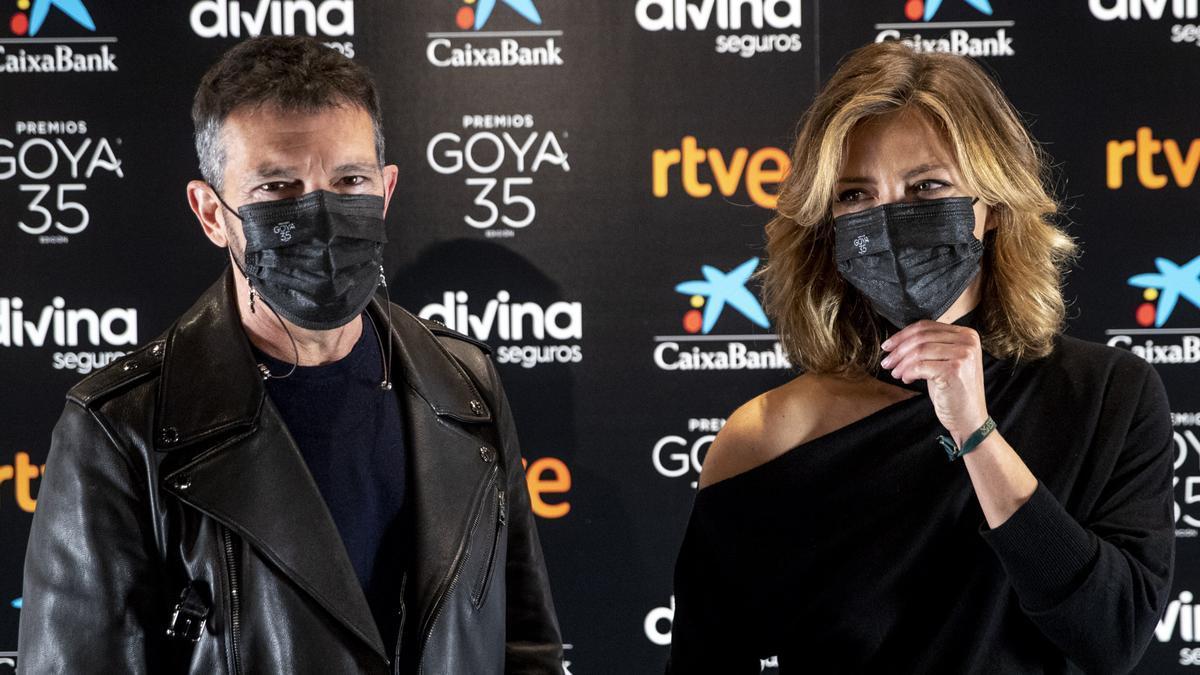 Antonio Banderas y María Casado son los encargados de dirigir y presentar la gala de los 35 Premios Goya