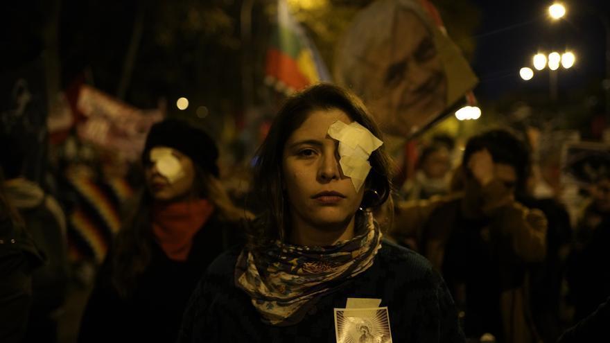 Marcha por el Clima en Madrid. / Olmo Calvo