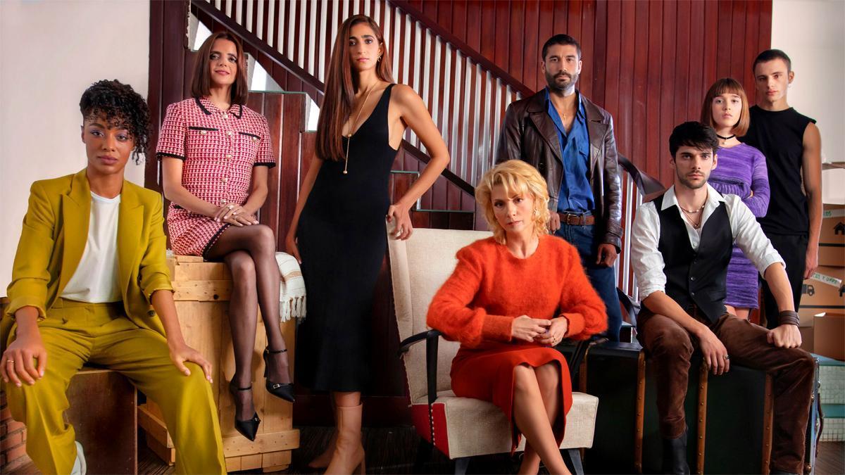 Primera imagen de la serie 'Sagrada familia'