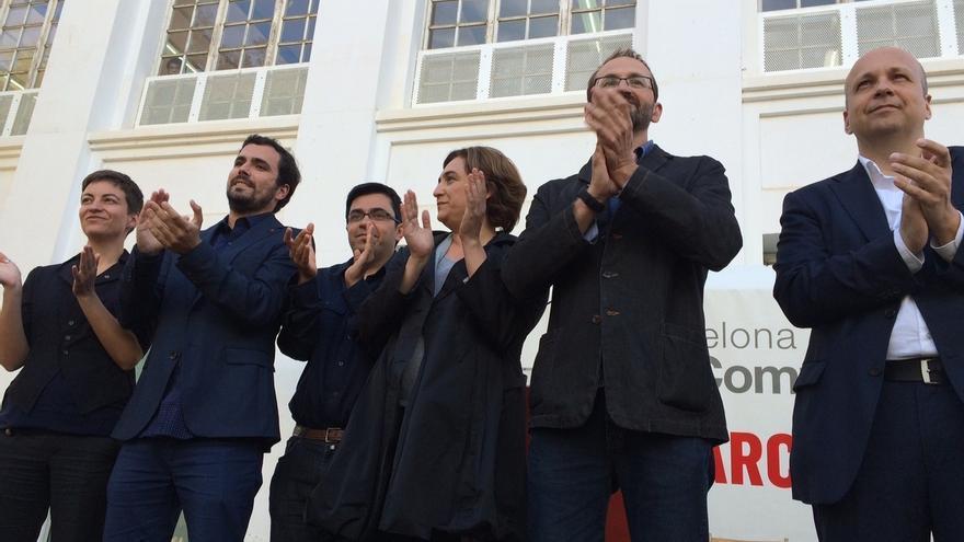 En Barcelona, con el 25% escrutado, Colau (BComú) gana con 12 concejales