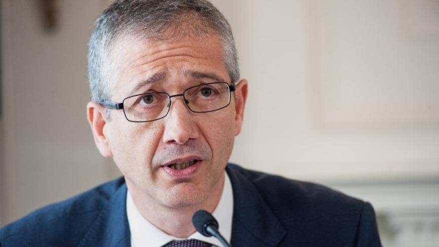 Hernández de Cos (BdE) justifica el aumento de los estímulos del BCE por el riesgo de deflación