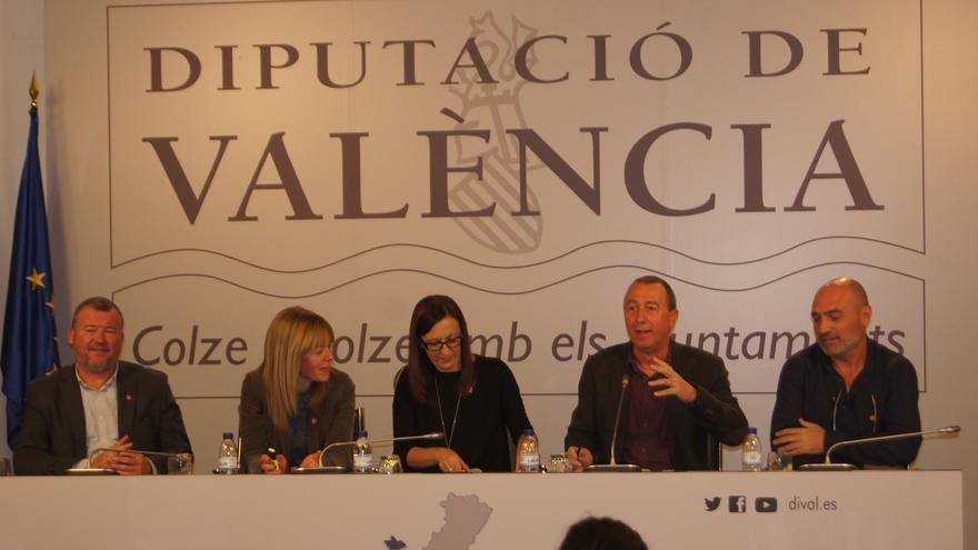 Compromís ha presentado sus planteamientos en la Diputación de València