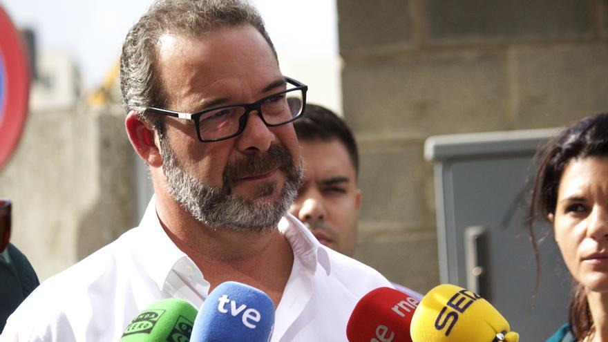 El portavoz de varias empresas acreedoras del Centro Deportivo de La Cícer, José Román Ramos. (Cirenia Vico).