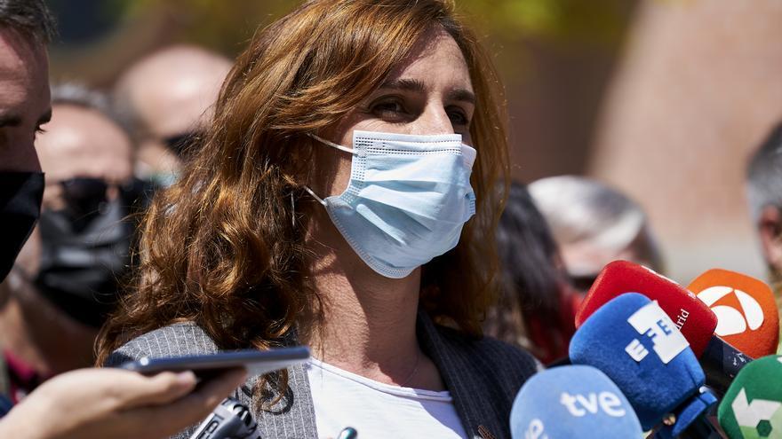 La candidata de Más Madrid a la Presidencia de la Comunidad de Madrid, Mónica García