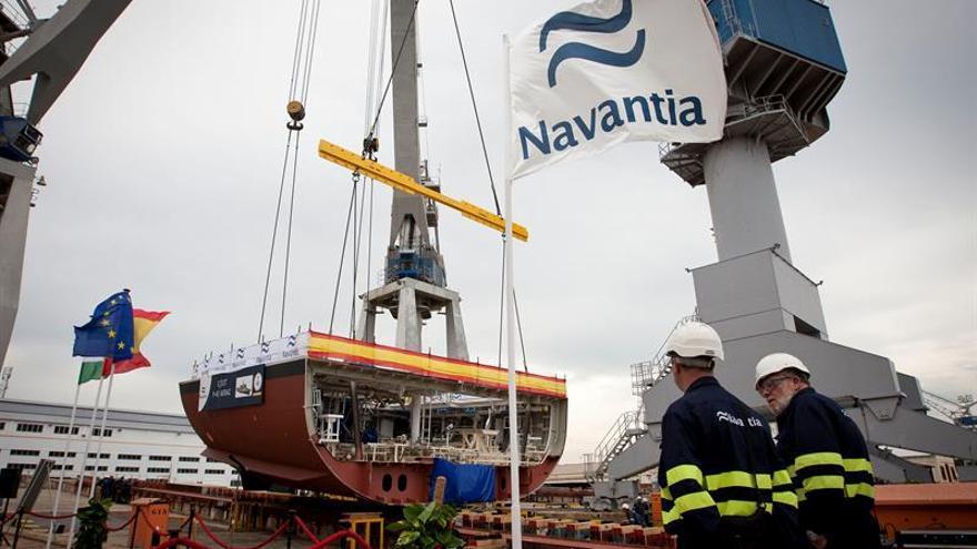 Los agentes sociales descartan que peligre el contrato de Navantia