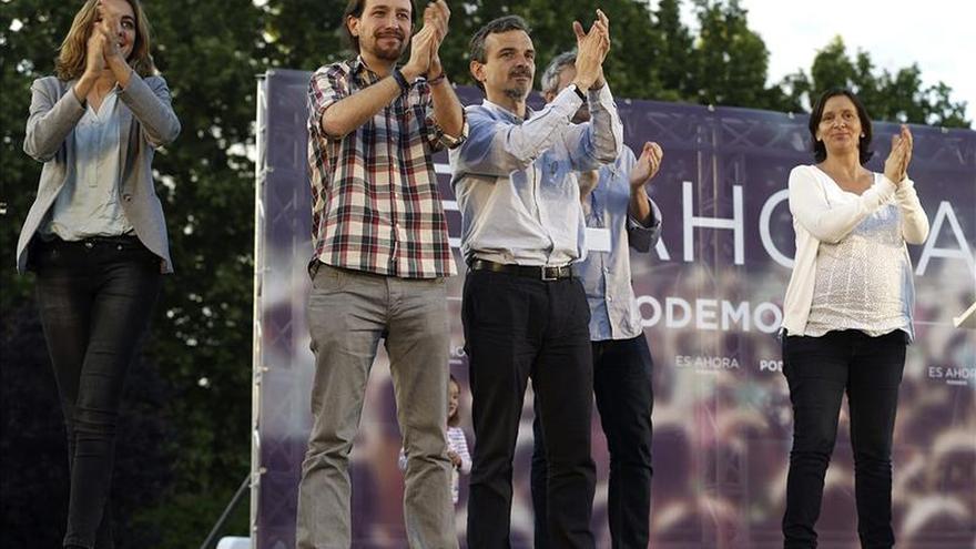 """Pablo Iglesias califica a Esperanza Aguirre de """"corrupta"""" y """"gentuza"""""""