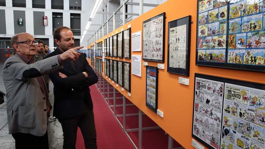 Ibáñez: Para exponer todos mis cómics sería necesaria la Gran Muralla china
