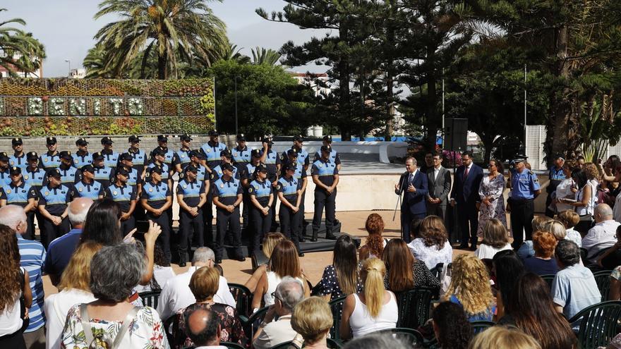 Un total de 68 nuevos agentes se incorporan a la plantilla de la Policía Local de Las Palmas de Gran Canaria.