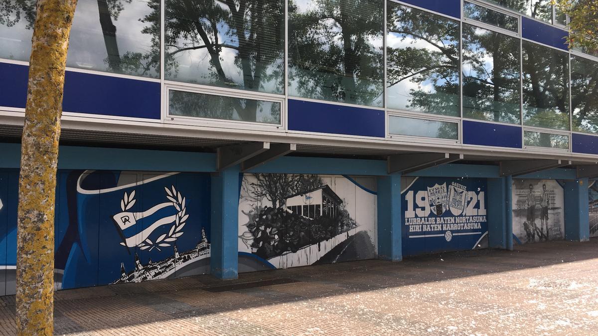 El estadio de Mendizorroza, donde el Deportivo Alavés se va a enfrentar al Real Madrid