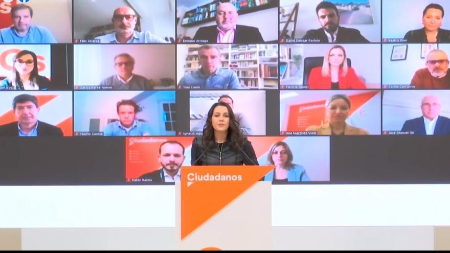 Martínez Vidal ha participado de forma telemática en la reunión del Comité Permanente de la formación junto a Inés Arrimadas