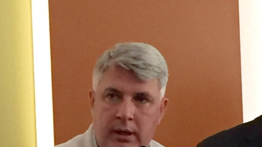 El alcalde de Arafo, José Juan Lemes.