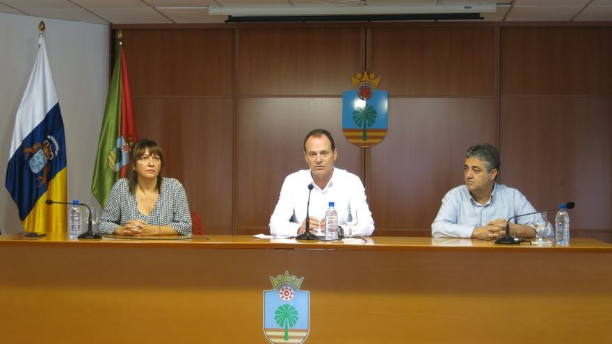 Dunia González, Óscar Hernández y Juan Díaz