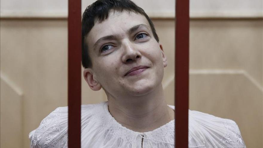 """EE.UU. insta a Rusia a liberar a Sávchenko y el resto de """"rehenes"""" ucranianos"""
