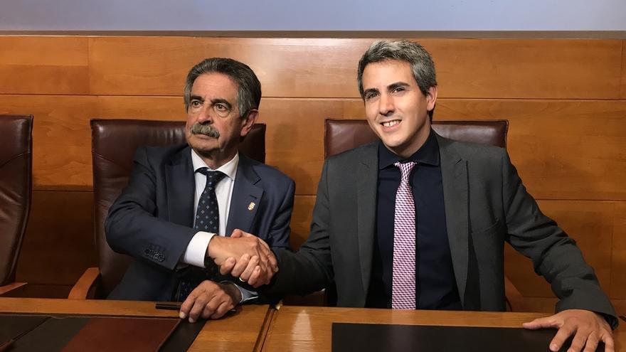 Revilla y PSOE ratifican el pacto de gobierno en Cantabria con la vista puesta en los presupuestos