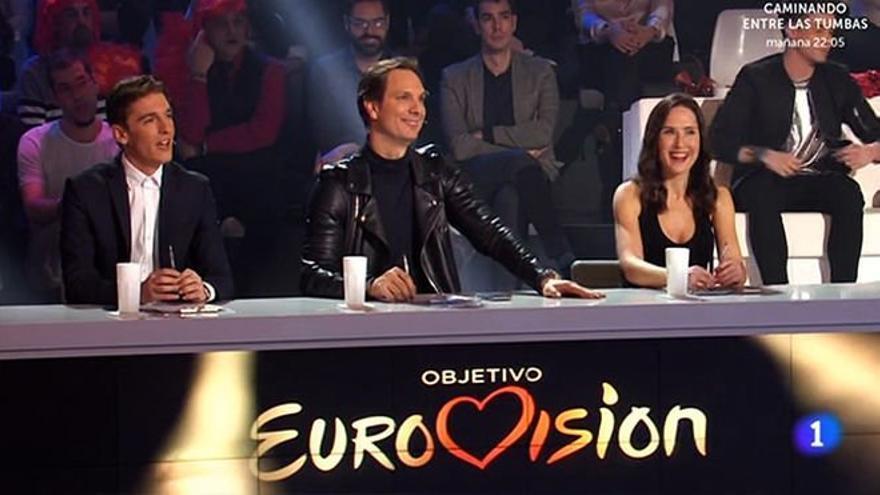 El jurado de 'Objetivo Eurovisión'