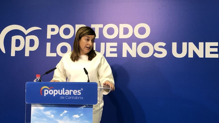 """El PP no ve """"coherente"""" que Revilla """"rompa"""" con Sánchez en Madrid y mantenga el Gobierno con el PSOE en Cantabria"""