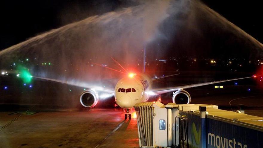 La aerolínea española Air Europa llega a Ecuador con un vuelo inaugural
