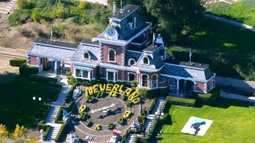 El rancho Neverland de Michael Jackson. Foto: Wikipedia