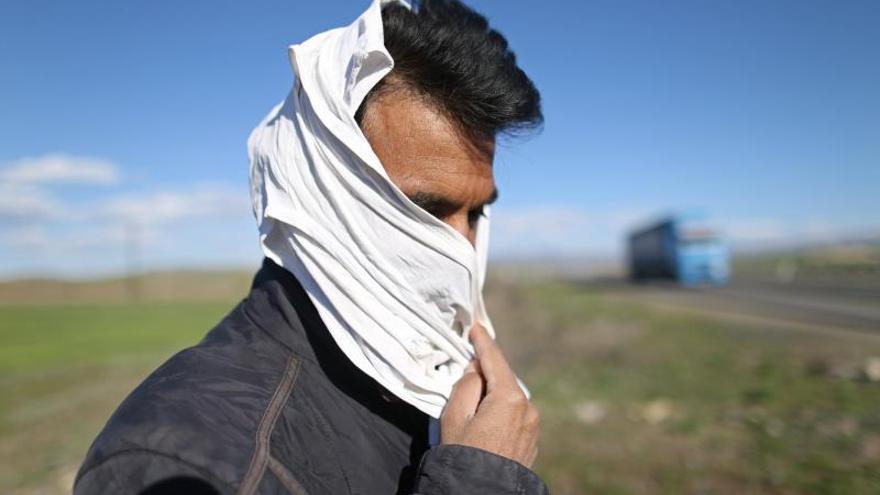 Mueren congelados tres refugiados afganos en el noroeste de Turquía