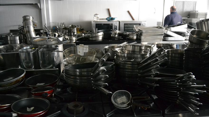 Una de las salas de cocina del hotel de cuatro estrellas del CIO Mijas | N.C.