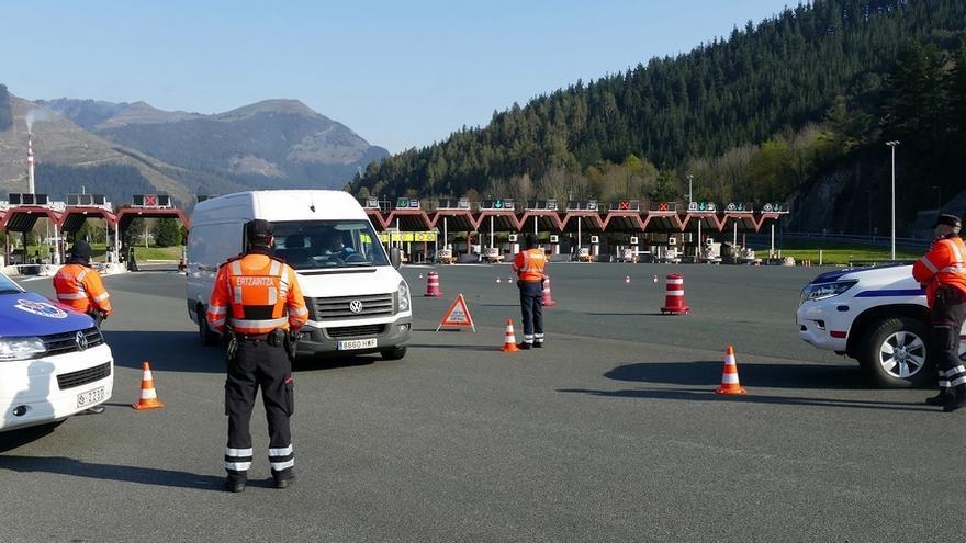 Detenidas nueve personas y 430 nuevas denuncias en Euskadi por saltarse el confinamiento
