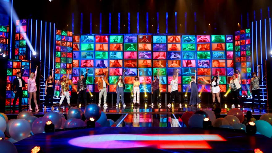 Los 16 concursantes de 'OT 2020' en la gala final