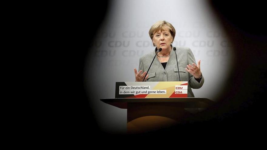 Los partidos alemanes se retratan con los carteles del comienzo de campaña