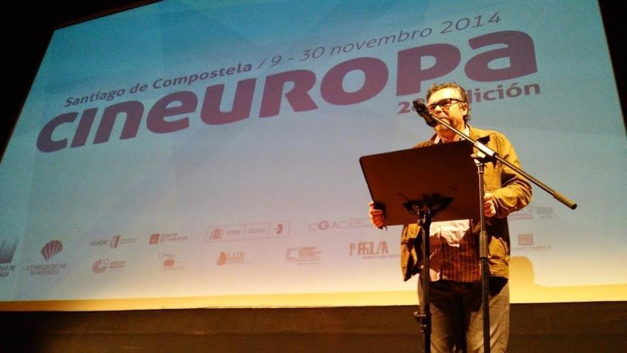 José Luis Losa, director de Cineuropa, en la sesión inaugural del festival