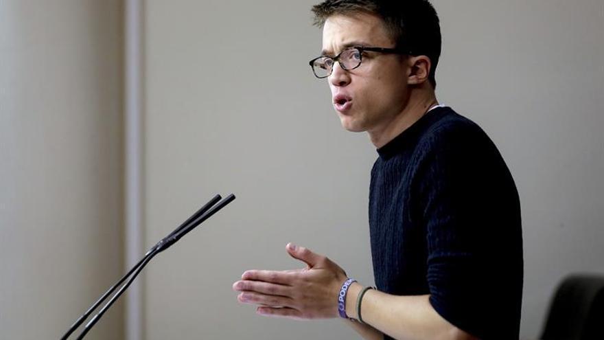 Errejón apuesta por un Podemos que camine hacía la descentralización