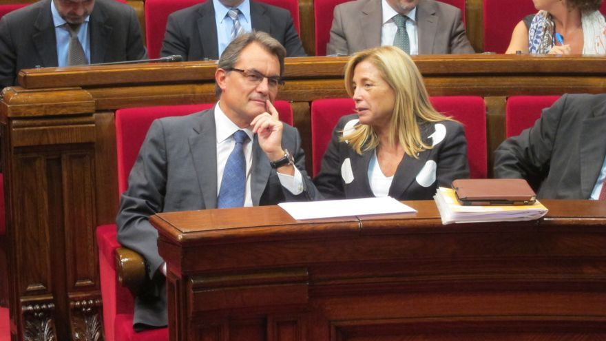 """Mas anuncia que """"ha llegado la hora"""" de que Cataluña ejerza el derecho de autodeterminación"""