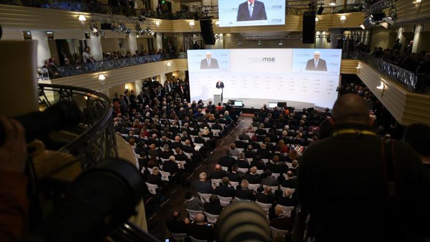 """Participantes en la Conferencia de Múnich constatan la """"erosión"""" de la diplomacia"""