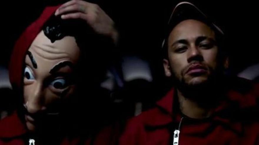 Neymar ficha por La casa de papel en dos escenas inéditas hasta ahora