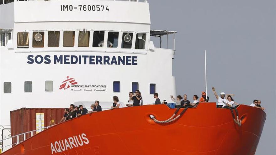 En Marsella Reitera Su Que Rechazo El A Francia Desembarque Aquarius RL45Aj