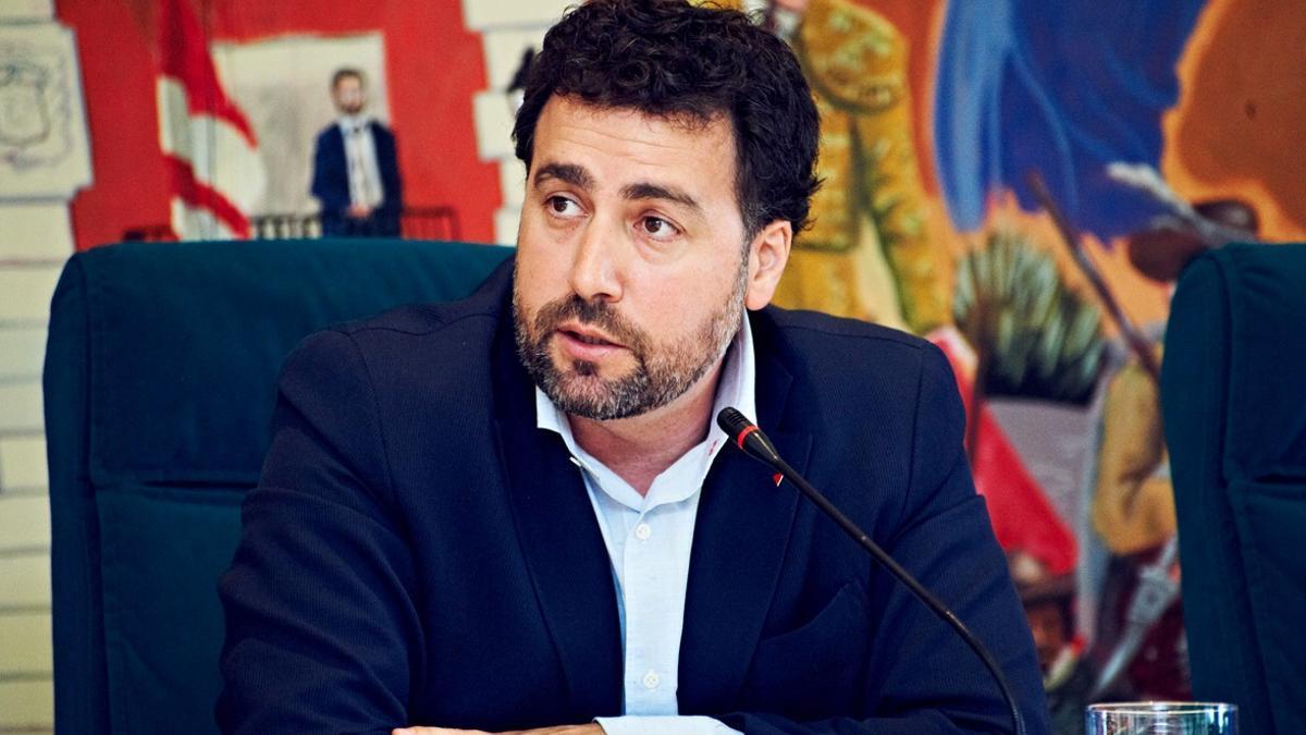 Pedro del Cura, alcalde de Rivas Vaciamadrid.