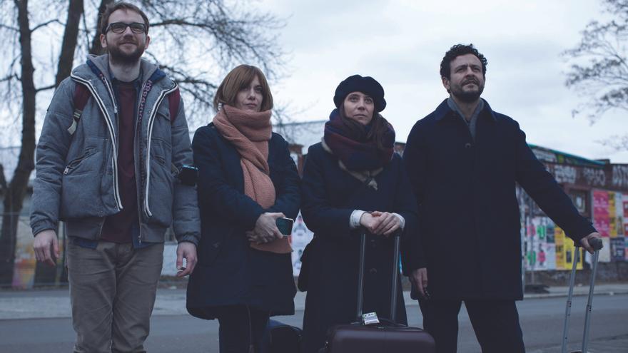 Los protagonistas de 'Las distancias', la premiada película de Elena Trapé que llega a las salas