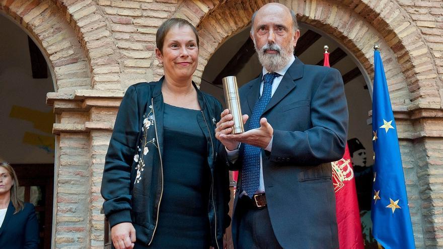 """Barkos afirma que """"una sociedad democrática construye la paz desde la memoria y la justicia"""""""