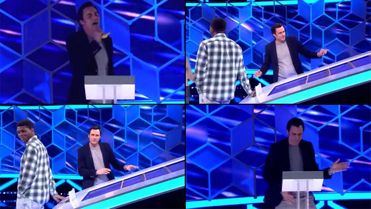Ion Aramendi, el encargado de amenizar las pausas de 'El Cazador'
