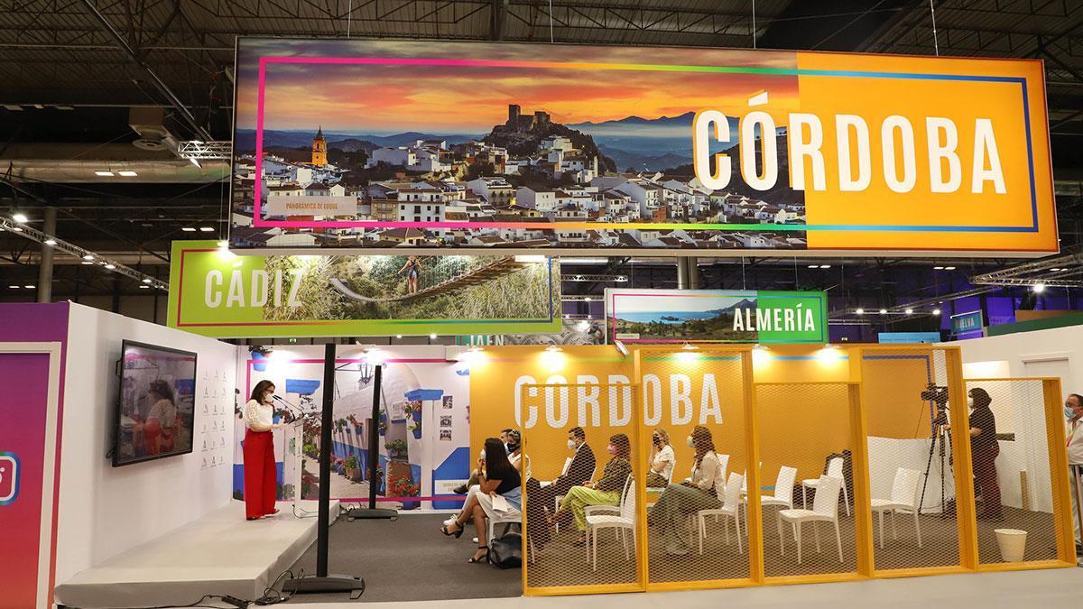 Stand de la provincia de Córdoba Provincia en Fitur 2021