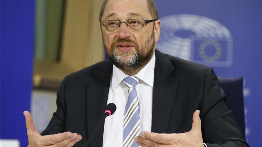 """Schulz afirma que """"la cuestión catalana debe debatirse en el marco de la Constitución"""""""