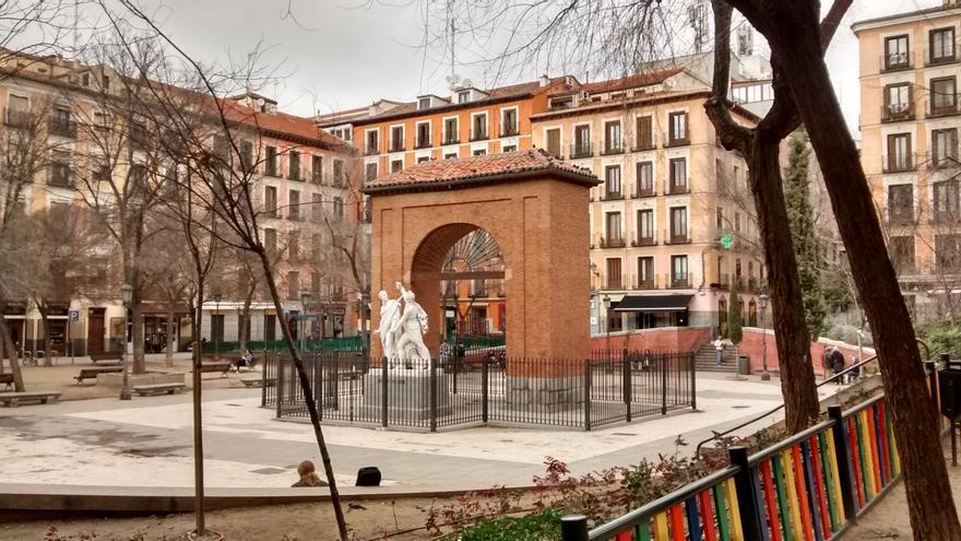 Vista de la Plaza del Dos de Mayo   SOMOS MALASAÑA