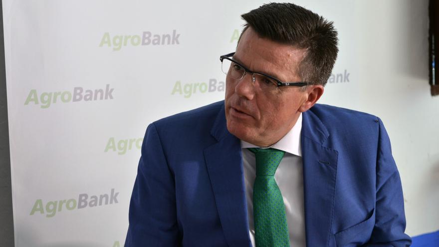 El director de Agrobank en Castilla-La Mancha, Arturo Tienza