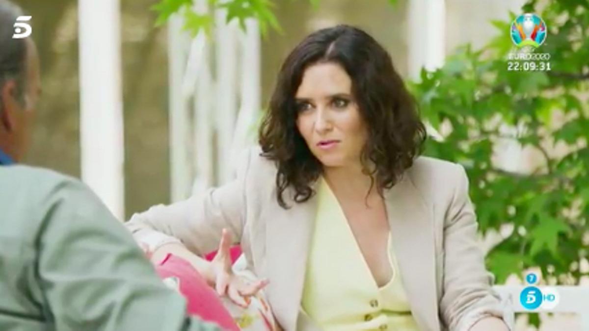 Isabel Díaz Ayuso en 'Mi casa es la tuya'