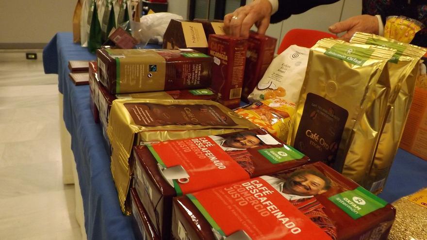 Jornada de comercio justo en Ibercaja.